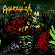 AGGRESSION - Feels Like Punk Sounds Like Thrash (2018) CDdigi