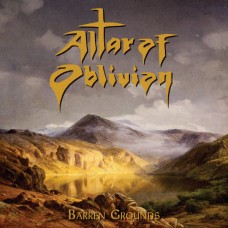 ALTAR OF OBLIVION - Barren Grounds (2016) MCD