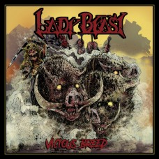 LADY BEAST - Vicious Breed (2017) CD