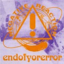 NEGATIVE REACTION - Endofyorerror (2003) CD