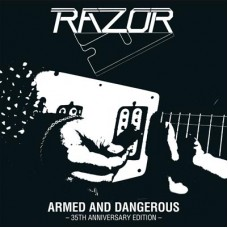 RAZOR - Armed And Dangerous (2019) CD