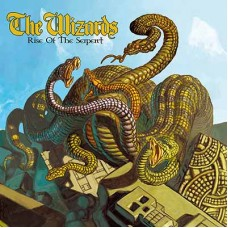 WIZARDS, THE - Rise Of The Serpent (2018) CD